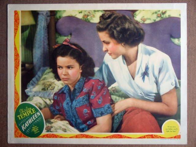 EO22 KATHLEEN SHIRLEY TEMPLE 1941 Portrait Lobby Card