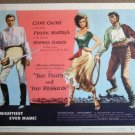 EO39 Pride & Passion CARY GRANT/LOREN Title Lobby Card
