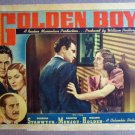 EP21 Golden Boy BARBARA STANWYCK/WM HOLDEN Lobby Card