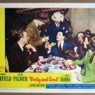 EU06 Body & Soul JOHN GARFIELD 1947 Lobby Card