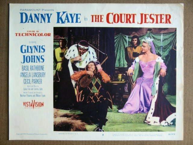 EV09 Court Jester DANNY KAYE/GLYNIS JOHNS  Lobby Card