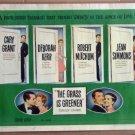 EX50 Grass Is Greener CARY GRANT/KERR Half Sheet Poster