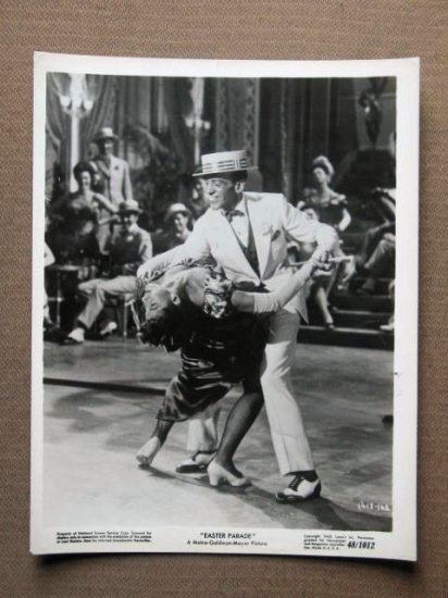 EY17 Easter Parade FRED ASTAIRE/GARLAND Studio Still