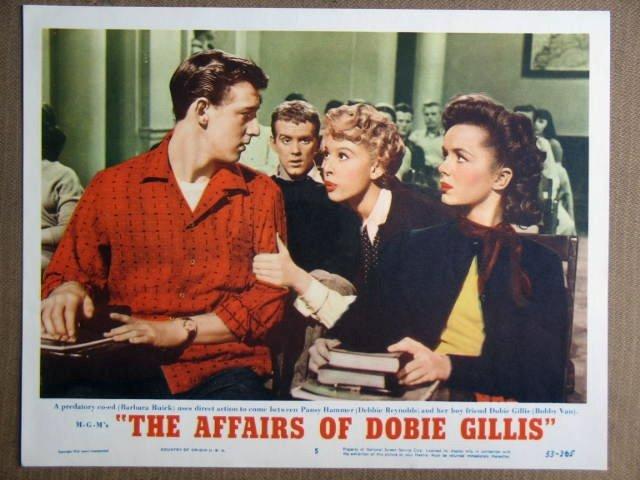 EZ02 Affair Of Dobbie Gillis DEBBIE REYNOLDS Lobby Card