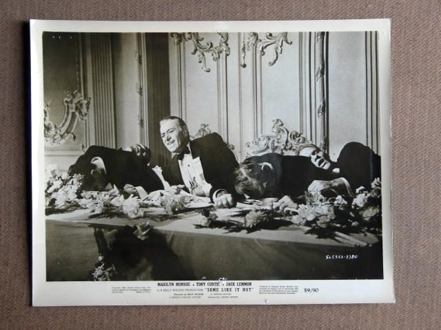 FA46 Some Like It Hot GEORGE RAFT Original Studio Still