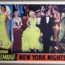 FB36 New York Nights NORMA TALMADGE Lobby Card