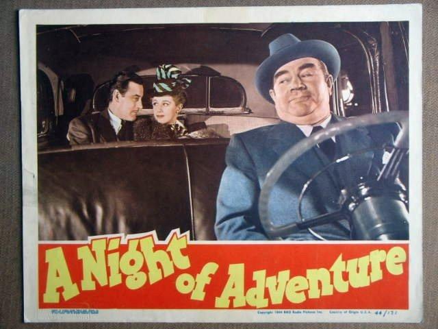 FC29 Night Of Adventure TOM CONWAY 1944 Lobby Card