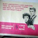 FD05 Child Is Waiting JUDY GARLAND Half Sheet Poster