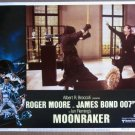 FE28 Moonraker ROGER MOORE/JAMES BOND 007 Lobby Card