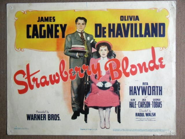 FF44 Strawberry Blonde JAMES CAGNEY Title Lobby Card