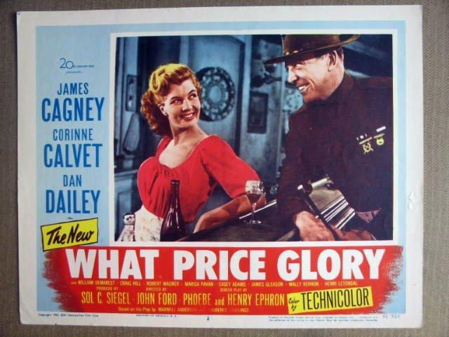 FI36 What Price GLory DAN DAILEY Portrait Lobby Card