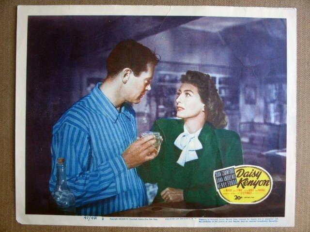 FK17 Daisy Kenyon JOAN CRAWFORD/HENRY FONDA Lobby Card