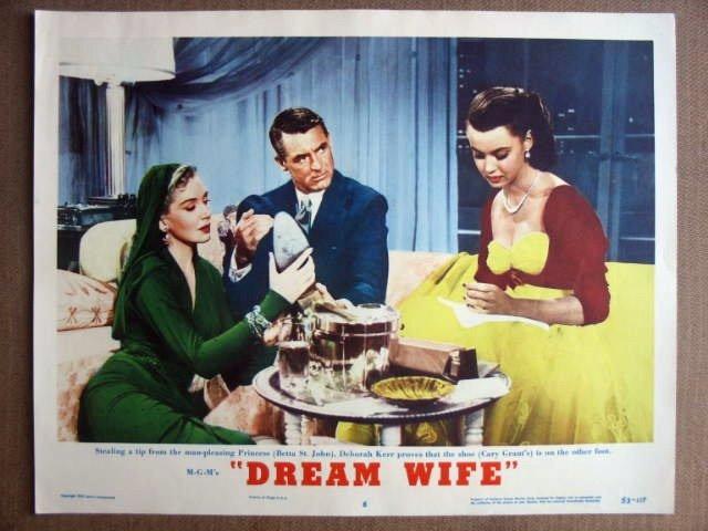 FK19 Dream Wife CARY GRANT/DEBORAH KERR Lobby Card
