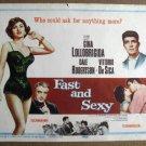 FL14 Fast & Sexy GINA LOLLOBRIGIDA Title Lobby Card
