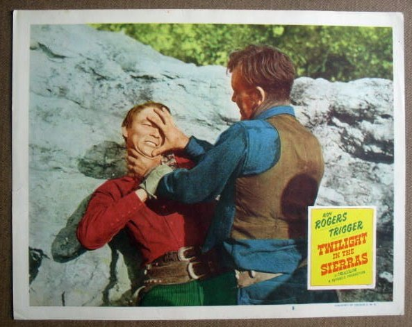 FL43 Twilight In Sierras ROY ROGERS Original Lobby Card