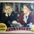 FM05 Balalaika NELSON EDDY 1939 Portrait Lobby Card