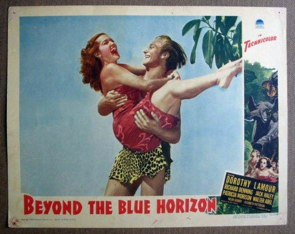 FM06 Beyond The Blue Horizon DOROTHY LAMOUR Lobby Card