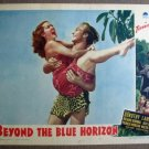 FM06 Beyond The Blue Horizon DOROTHY LAMOUR Lobby Card