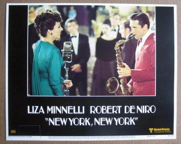 FM22 New York NY LIZA MINNELLI/ROBERT DeNIRO Lobby Card