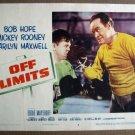 FM23 Off Limits BOB HOPE/MICKEY ROONEY Lobby Card