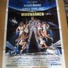 FM50 Moonraker ROGER MOORE Advance One Sheet Poster
