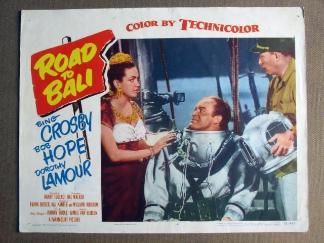 FN31 Road To Bali BOB HOPE/BING CROSBY Lobby Card