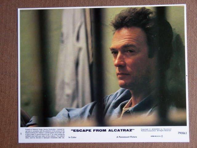 FO02 Escape From Alcatraz CLINT EASTWOOD Studio Still