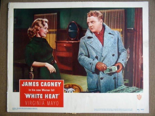 GK47 White Heat JAMES CAGNEY/VIRGINIA MAYO Lobby Card