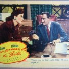 GN44 They All Kissed JOAN CRAWFORD/M DOUGLAS Lobby Card