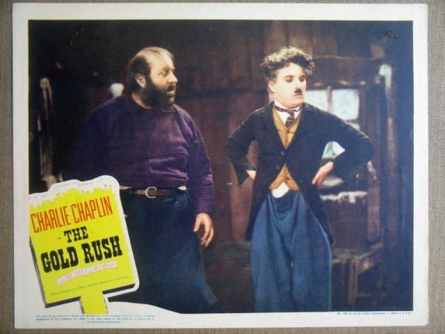 GO13 Gold Rush CHARLIE CHAPLIN  1946 Lobby Card