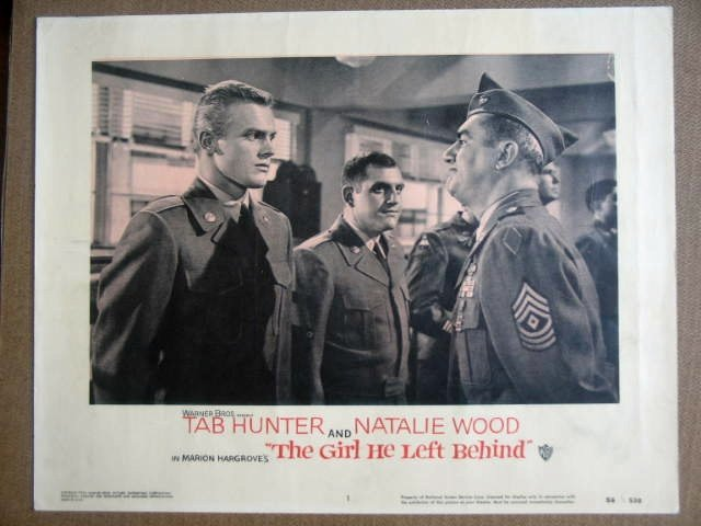 GL13 Girl He Left NATALIE WOOD/TAB HUNTER Lobby Card