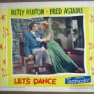 GL24 Let's Dance BETTY HUTTON/FRED ASTAIRE Lobby Card
