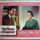 GM49 This Woman Is Dangerous JOAN CRAWFORD Lobby Card