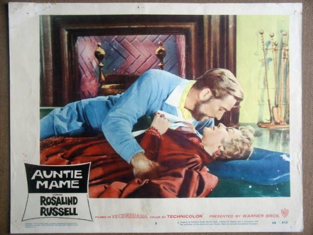 GN06 Auntie Mame ROSALIND RUSSELL 1958 Lobby Card