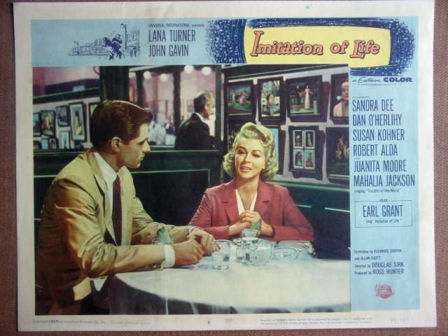 GO18 Imitation Of Life LANA TURNER/J GAVIN Lobby Card