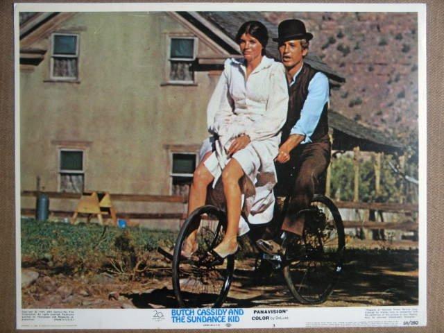 GP07 Butch Cassidy Sundance Kid  PAUL NEWMAN Lobby Card