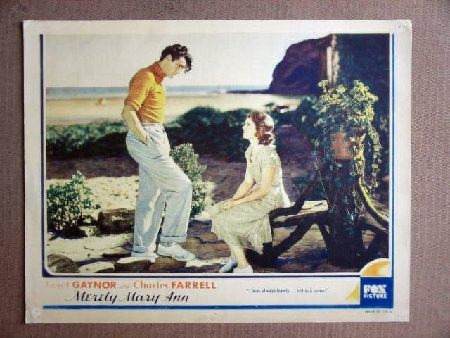 FR34 Merely Mary Ann JANET GAYNOR/C FARRELL Lobby Card