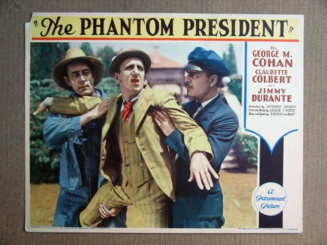 FS33 Phantom President JIMMY DURANTE 1932 Lobby Card