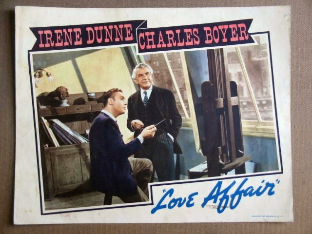 FV23 Love Affair CHARLES BOYER Original 1939 Lobby Card