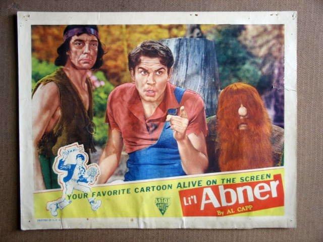 FR29 Li'l Abner BUSTER KEATON/JEFF YORK Lobby Card