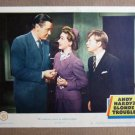 FS05 Andy Hardy Blonde Trouble MICKEY ROONEY Lobby Card