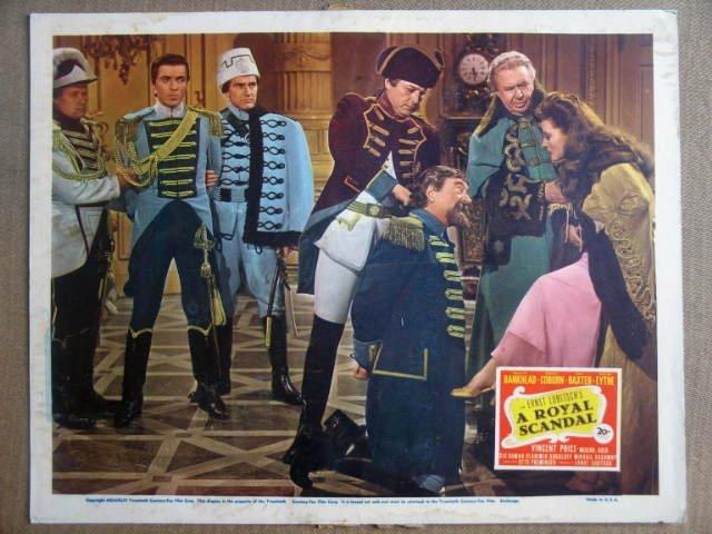 GI35 Royal Scandal TALLULAH BANKHEAD 1944 Lobby Card