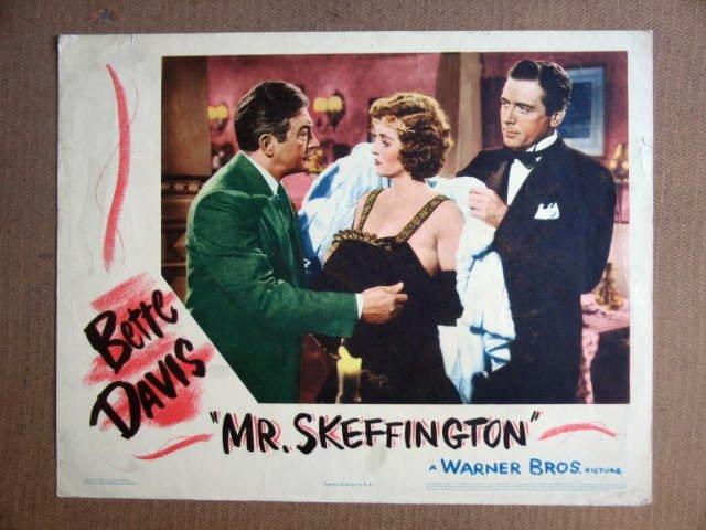 FT29 MR. SKEFFINGTON BETTE DAVIS /CLAUDE RAINS Lobby card