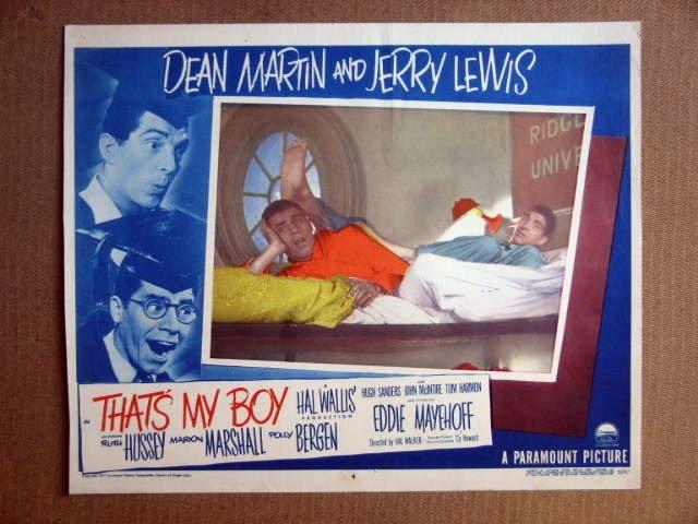 FS43 That's My Boy JERRY LEWIS/DEAN MARTIN Lobby Card