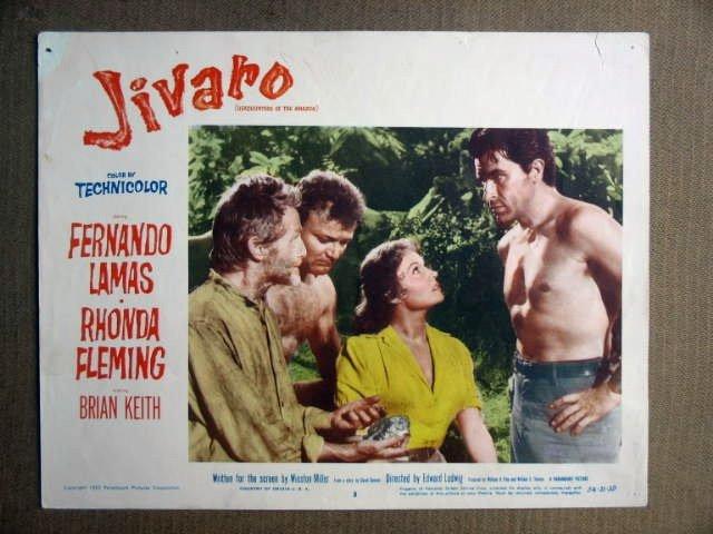 FR26 Jivaro FERNANDO LAMAS (beefcake) Lobby Card