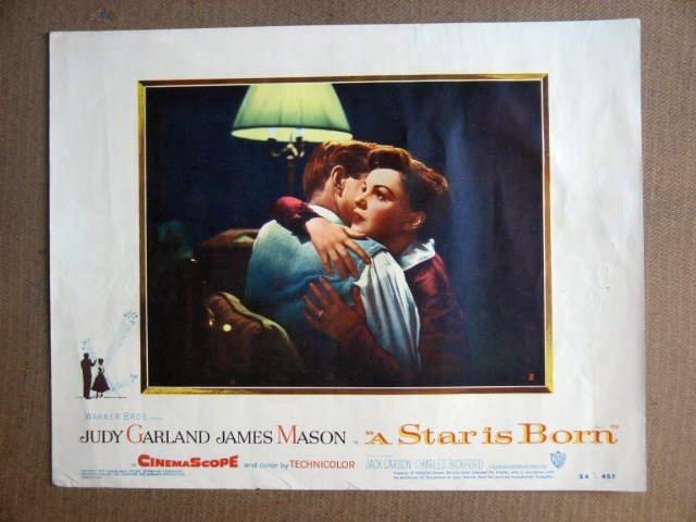 FT41 STAR IS BORN JUDY GARLAND/JAMES MASON Portrait Lobby card