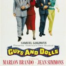 FS01 Guys Dolls MARLON BRANDO/SINATRA One Sheet Poster
