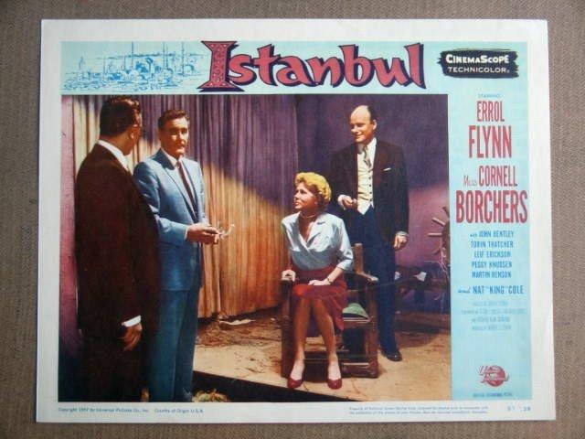 FV20 Istanbul ERROL FLYNN/CORNELL BORCHERS Lobby Card