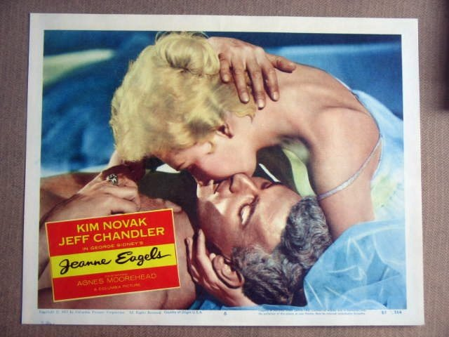 FY16 Jeanne Eagels KIM NOVAK 1957 Portrait Lobby Card