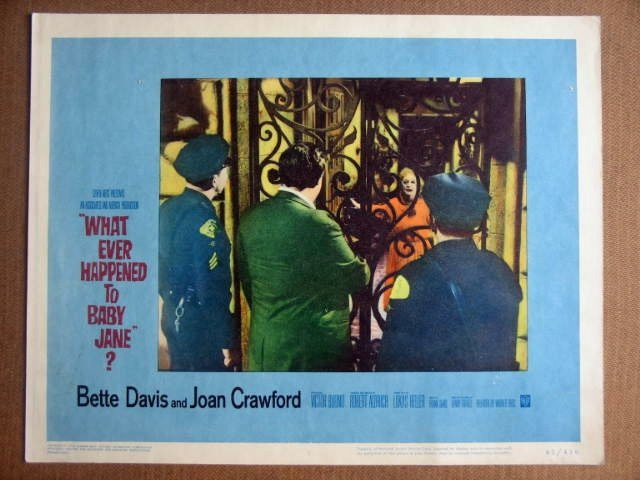 GA49 What Happened To Baby Jane BETTE DAVIS Lobby Card